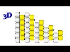 Чтобы убавить количество бисерин в ряду, просто развернитесь в нужной точке плетения и продолжайте плетение в обратном направлении.