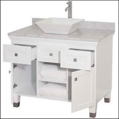 White Bathroom Vanity 36 bathroom, : awesome and elegant with using 42 inch bathroom vanity