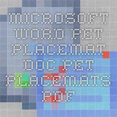Microsoft Word - Pet Placemat.doc - pet_placemats.pdf