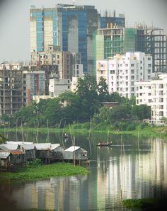 Banani Lake, Dhaka, Bangladesh