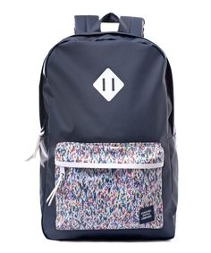 Herschel Supply Navy Heritage Joshua and Graham Liberty Backpack | Menswear |Liberty.couk