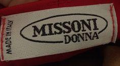 St John silk blouse with Missoni red slacks….