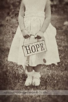 Hope is a key ingredient to riding out the waves of life,..