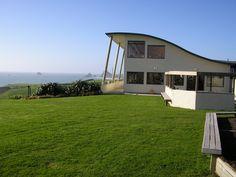 Okurukuru Winery, south of New Plymouth, Taranaki, New Zealand. New Zealand Houses, Plymouth, Shed, Home And Garden, Gardens, Outdoor Structures, Coffee, Travel, Kaffee