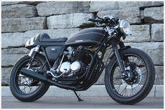 Honda CB550 - 'Ravenna' by GasserCustoms - Pipeburn - Purveyors of Classic Motorcycles, Cafe Racers & Custom motorbikes
