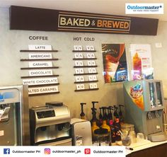 Spruce up your business establishments or office through this creatively designed wall sticker mural and sticker on sintra installed for CERES MART! We're grateful for the trust you've placed in us!  For all your marketing collateral needs, contact us at (0917) 8300 990!  #Outdoormaster #WeMakeIdeasHappen #Stickers #Signs Fruit Tea, Wall Stickers Murals, Trust Yourself, Grateful, Brewing, Latte, Marketing, Signs, Business
