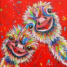 Tier Wallpaper, Painting Wallpaper, Animal Wallpaper, Art And Illustration, Acrylic Painting Inspiration, Funny Paintings, Bird Artwork, Pop Art, Decoupage