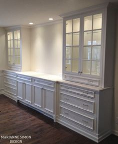 One of my favorite parts of my job is not only working with some pretty  amazing clients, but seeing the vision for their space come to life. When  I'm given the creative license to create a custom piece for a client's  home, well, it's one of the best feelings a designer can have. When I  firs Built In Wall Units, Armoire Ikea, Built In Buffet, Built In Hutch, Muebles Living, New Kitchen, Kitchen Pantry, Kitchen Cabinets, Dining Room Cabinets