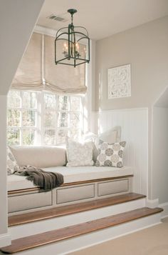 Cozy Window Seats We Love | Interior Design Styles and Color Schemes for Home Decorating | HGTV