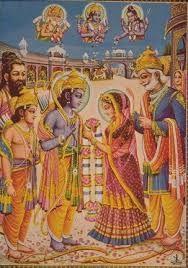 Le mariage de Sita et Rama