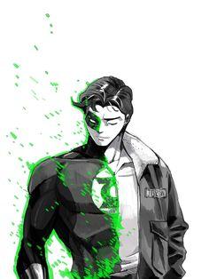 DC: Hal Jordan by dwandwan on DeviantArt