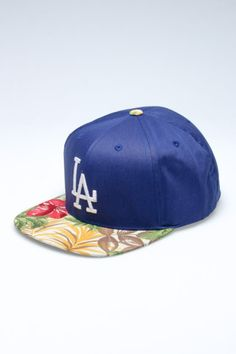 Brimming with excitement for spring AND baseball season...American Needle Visor Trip Dodgers Hat via @JackThreads #badpuns
