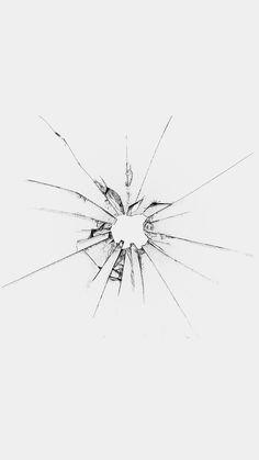 Apple Logo Window White Broken iPhone 6 wallpaper