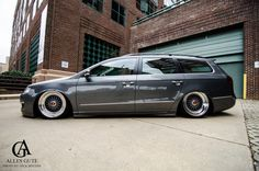 "Passat wagon on air with Rotiform'ed 18"" BBS RS'"