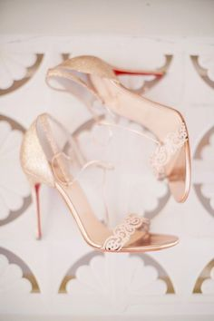 Gilded perfection: http://www.stylemepretty.com/2015/07/12/30-christian-louboutin-shoes-youll-love-almost-as-much-as-your-husband/:
