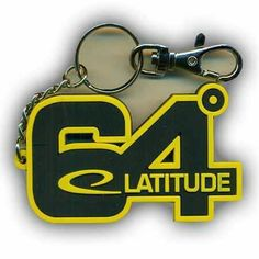 Latitude 64° Key Chain
