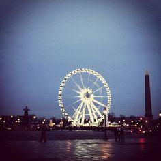 Place de la Concorde #Paris