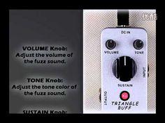 Mooer Triangle Buff Fuzz micro compact pedal
