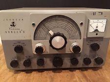 VINTAGE JOHNSON VIKING RANGER II  HAM RADIO TRANSMITTER