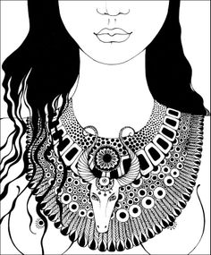 №4 #zodiac #taurus #illustration #art