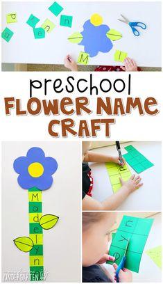 Discover more about kindergarten craft ideas April Preschool, Preschool Names, Preschool Garden, Preschool Projects, Spring Preschool Theme, Preschool Flower Theme, Preschool Summer Crafts, Spring Theme, Science Crafts