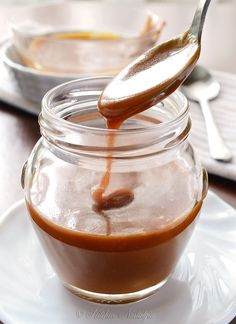 Salted Caramel Sauce - make easily at home with only 4 simple ingredients