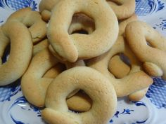 Portuguese biscoitos recipe. My father-in-law says they remind him of the old country! Delicious with coffee.