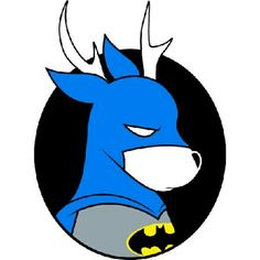 Nanananananana BAT-DEER!!!      #comic #comicbooks #comicbook #batman #robin #joker #deer #nature #geek #nerd #funny #design #hero #heroes #superheroes