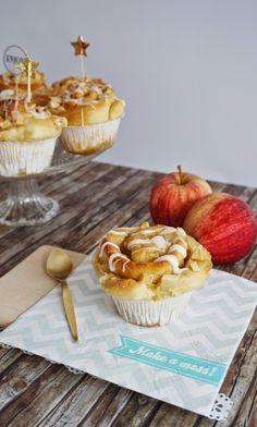 Victoria's Little Secrets: Ich back's mir: Apfel-Zimtschnecken Muffins