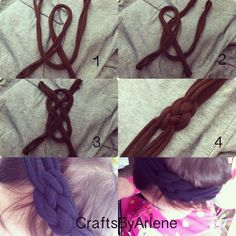 DIY Tutorial: Hair Accessories / Diy: Headband - Bead&Cord