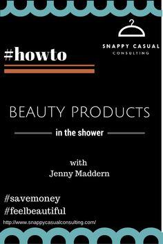 #howto #beautyproductsintheshower #snappycasual #snappysolutions #jennymaddern  https://www.youtube.com/watch?v=ADHOMA-3KbA&list=PLmWp5BtEy3Snv4V9YwmQK-fIbIknOA4Ho&index=3