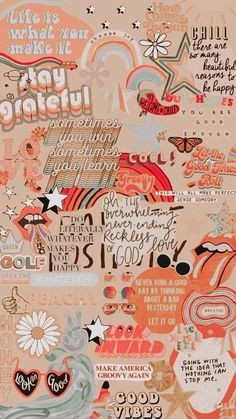 Orange Collage wallpaper by 1kashley - e9 - Free on ZEDGE™
