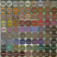 MAKEUP GEEK SHADOWS!!