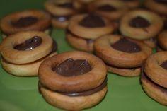 Le Ricette della Nonna: Occhi di bue alla nutella