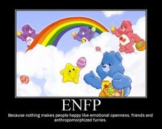 This explains my childhood love of Care Bears.....