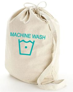 The Machine Wash Laundry Bag, Hand printed, Laundry Bag, Reusable Bag, Screenprinted, Dorm, Cotton Tote, Canvas Tote, Carry All, Gift by TotesMyTotesCo on Etsy https://www.etsy.com/listing/219079297/the-machine-wash-laundry-bag-hand