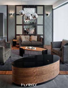 beautiful and modern home and hotel living room interior design. Gray Interior, Interior Design Living Room, Living Room Designs, Interior Modern, Interior Design Images, Interior Design Inspiration, Design Ideas, Living Room Update, Interior Architecture