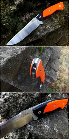 Cronos Alligator II Bushcraft Knife from a Polish knife maker.