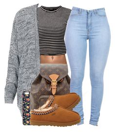 """""""ob"""" by simoneswagg on Polyvore featuring Topshop, Samsung, Louis Vuitton, UGG…"""