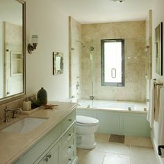 Having shower-tub combo also allows you to indulge in a refreshing occasional bubble bath. We promise our brilliant bathtub shower combo ideas won't fail to Tub Shower Doors, Bathtub Shower Combo, Glass Shower, Bath Shower, Shower Enclosure, Bathroom Renos, Budget Bathroom, Bathroom Ideas, Bathroom Tubs