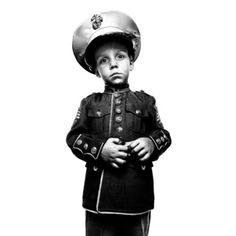 SERVICE: Jakob Mckay, son of sergeant John Mckay Camp Lejeune.