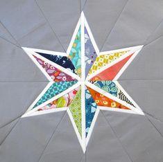 Quilting: 'Star Seams' Block: