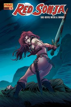 RED SONJA: ANNUAL #4