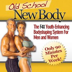 """Old School New Body is geared towards older (40+) bodies but does work well for the younger bodies. Do you want to look, feel and move years younger? You really can reinvent your body at any age with """"Old School, New Body"""" by fitness experts Steve & Becky Holman. This 90-minute-a-week, youth-enhancing, body shaping system for men and women can help you shape your body."""