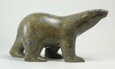 """Résultat de recherche d'images pour """"inuit soapstone bear carvings"""""""