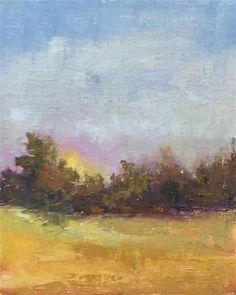 "Daily Paintworks - ""nightfall"" - Original Fine Art for Sale - © Carol Carmichael"