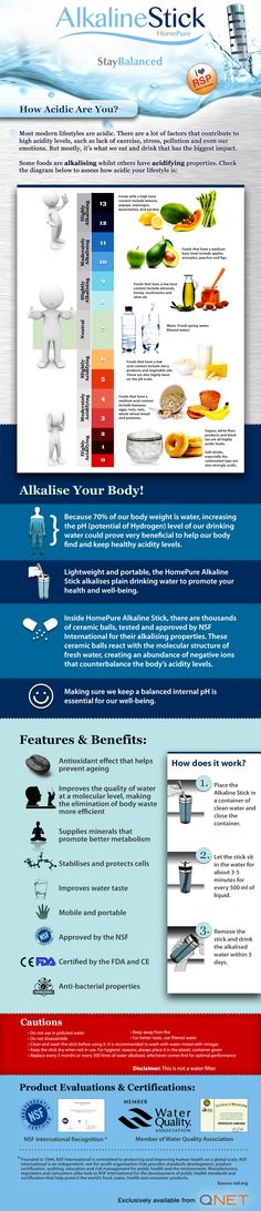 How #QNET's #Alkaline Stick helps you stay #healthy.