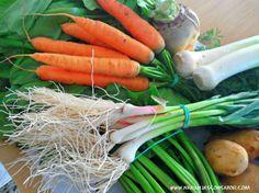 Verdura ecológica, de temporada y con sabor