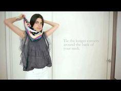 The @Man Repeller 's tips on tying a scarf; even if you know these methods, it's still quite amusing! #style #howto