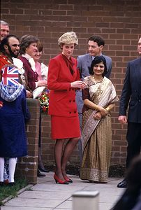 January 27 1987  Diana opened the new Special Unit for Deaf/Visually Handicapped Children at the Whitefield School for Deaf Children, MacDonald Road, Walthamstow, London E17